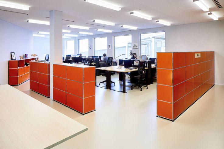 Uffici: Centre International de l'Art Parietal Montignac gli architetti degli studi Snøhetta e SRA hanno optato i sistemi di arredamento modulare USM Haller   ©Christophe Glaudel
