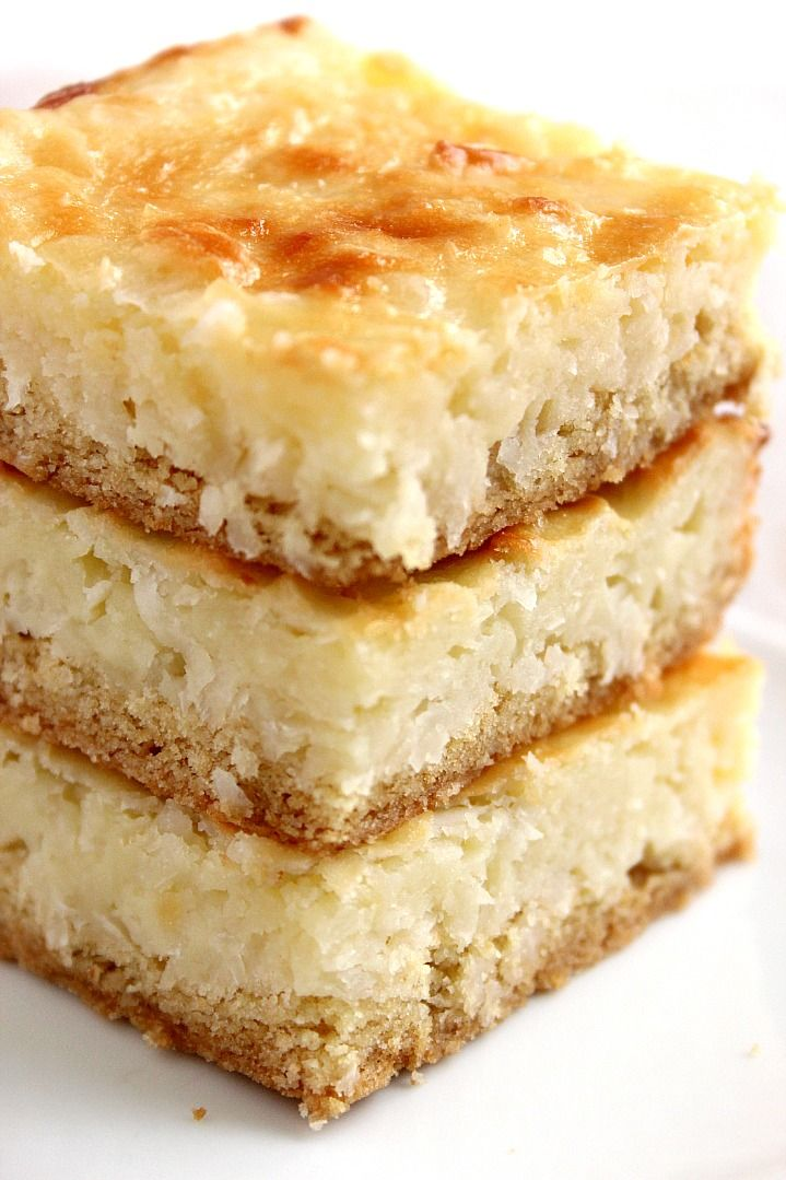 coconut cheesecake bars 1 682x1024 Coconut Cheesecake Bars Recipe