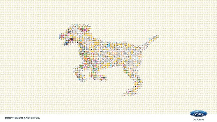 Ford Celebrated World Emoji Day By Tweeting Beautiful Images Made Out Of Emojis