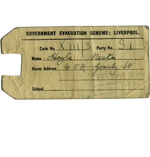 evacuation label template - 23 best images about 1940s evacuee project on pinterest