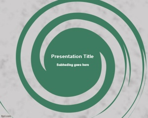If you need a simple but useful spiral design for PowerPoint presentations then this free Spiral PowerPoint Template can be useful
