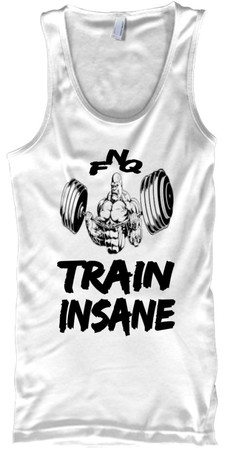 "TRAIN INSANE - from FIT NEVER QUIT - "" FNQ "" Sale Ends Soon! Order yours now.  Paypal 