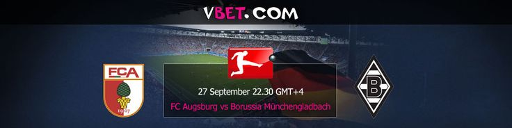 Make live betting on the Bundesliga Augsburg vs Borussia Munchengladbach www.vbet.com 27/09 at 22:30 GMT+4  Augsburg - Borussia Monchengladbach football match will the start of the 7th matchday of the German Bundesliga. At the start of the season rivals showed similar results. Each have had 3 victories.