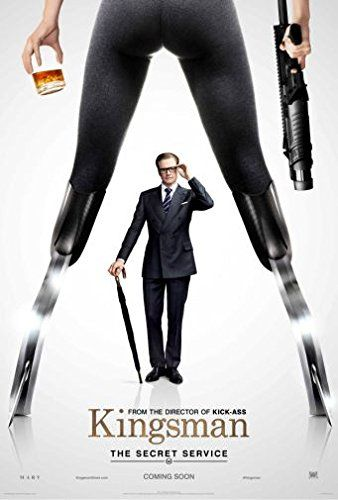 (24x36) Kingsman Movie Poster Large 24 x 36 inches 61x91....