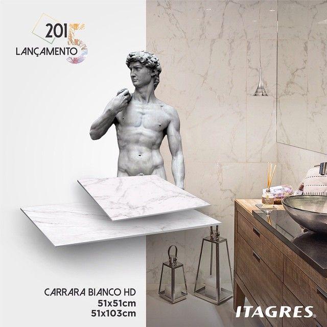 Você já conhece nosso Carrara Bianco HD? Sinônimo de sofisticação e luxo, nosso produto foi inspirado em uma das obras mais importantes do período renascentista, esculpida por Michelangelo em mármore carrara. Produto de alto brilho, referência no mercado de construção. Redescubra seu espaço!