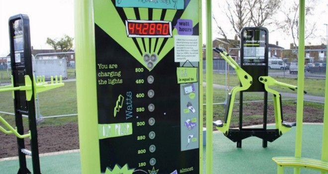 Gimnasio al aire libre y gratuito produce electricidad mientras tonificas tu cuerpo