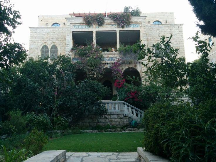 """Villa """"Harun al Rashid"""" in Talbieh, Jerusalem."""