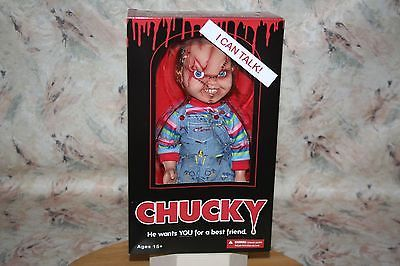 """Talking chucky doll figure #bride of chucky new! mega #scale 15"""" tall #mezco 2015,  View more on the LINK: http://www.zeppy.io/product/gb/2/272225382312/"""