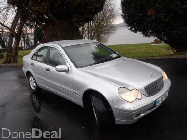Absolute mint Mercedes C180 1.8 Kompressor Classic model no finer example will be found. 2 owners from new lady owner since 2005. Fully serviced new oil, oil filter, air filter, pollen filter, plugs, 2 new wishbone arms, new anti roll bar link, rear anti roll bat bushings. Mitchellan tyres 80% . Brand new NCT valid 10-2016 and just been valeted. Nothing spared in preparation for sale. Viewing Highly recommended Killaloe area Co. Clare.Features remote cl, ps, ew x 4, abs, esp, multiple…