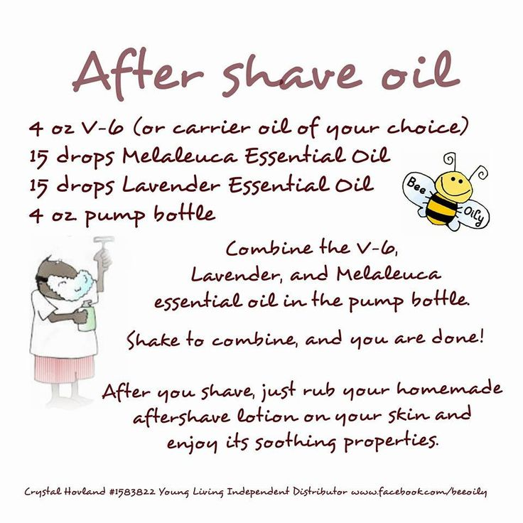 Young Living Essential Oils: After Shave