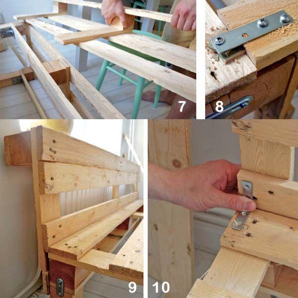 Como Fazer Sofa De Pallet Com Encosto Com Imagens Como Fazer