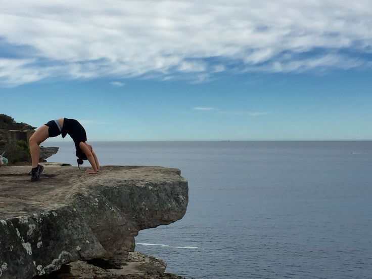 Gymnastics on Cliffs