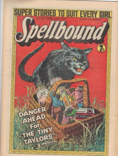 Spellbound comic (UK) No.31 Spellbound was a girl-targeted horror weekly published from 1976 to 1977 by DC Thomson. It lasted for 69 issues