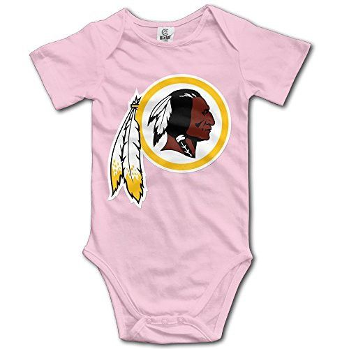 Washington Redskin Baby Boy Girls Infant Casual Romper