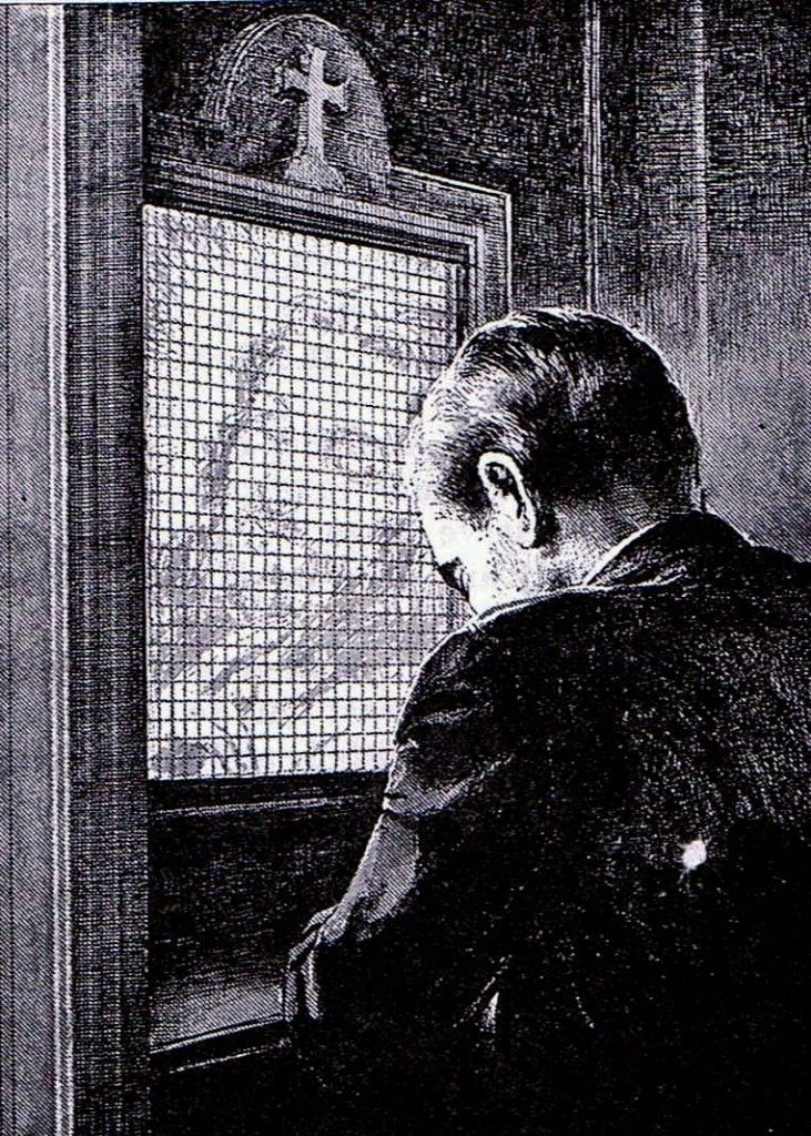 4 Reasons For Traditional Catholic Confession Behind Screen And Kneeling. 1