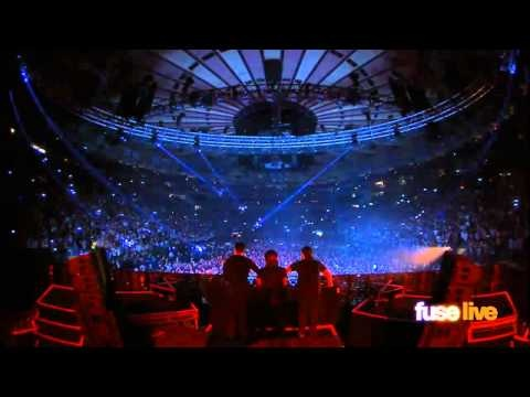 Swedish House Mafia at Madison Square Garden Intro