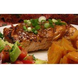 Chile Garlic BBQ Salmon Allrecipes.com