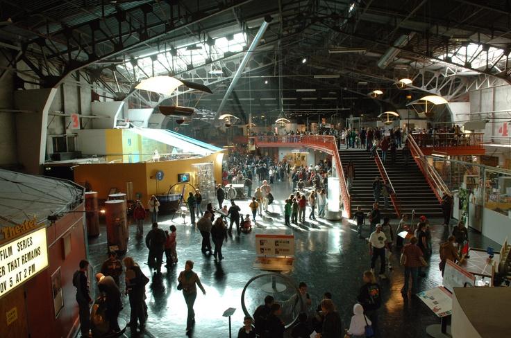 The Exploratorium. a San Francisco hands-on science museum.