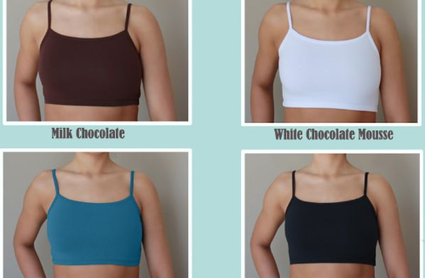Affordable half cami's and half shirts that cover your cleavage without the length
