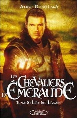 Couverture de Les Chevaliers d'Émeraude, tome 5 : L'Île des Lézards