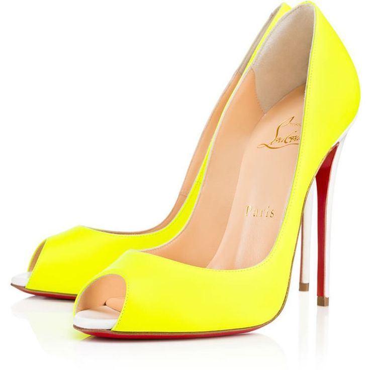 CHRISTIAN LOUBOUTIN Bailarinas amarillo