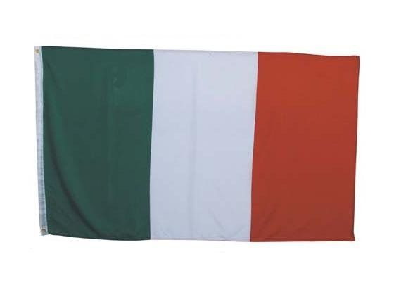 MFH Fahne, Italien 90 x 150 / mehr Infos auf: www.Guntia-Militaria-Shop.de