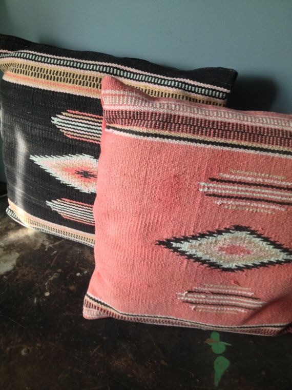 VIntage Southwestern Decorative Pillows Set of by ZassysTreasures, $50.00