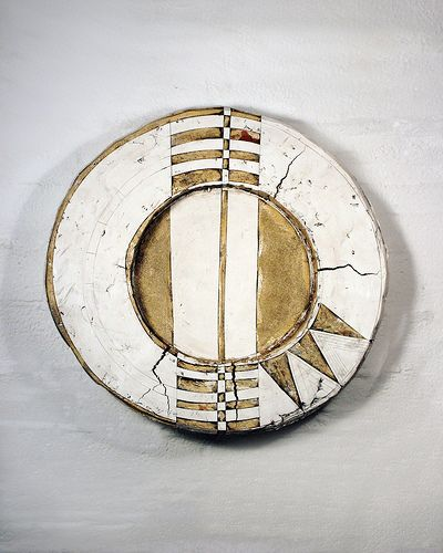 cross section 21x21x4.5 (by psannit)  Patricia Sannit Ceramic