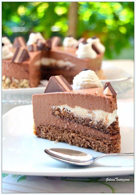 GOLOSA TENTAZIONE...: Torta al cioccolato e caffè