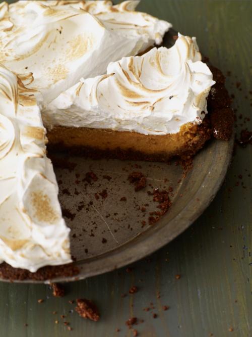 Sweet-Potato Meringue Pie Recipe | recipes | Pinterest