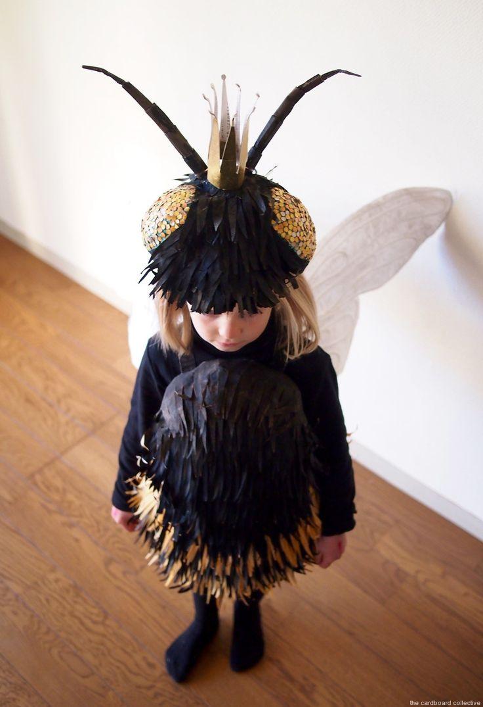 Cardboard Head Dress Fashion Show For Kids