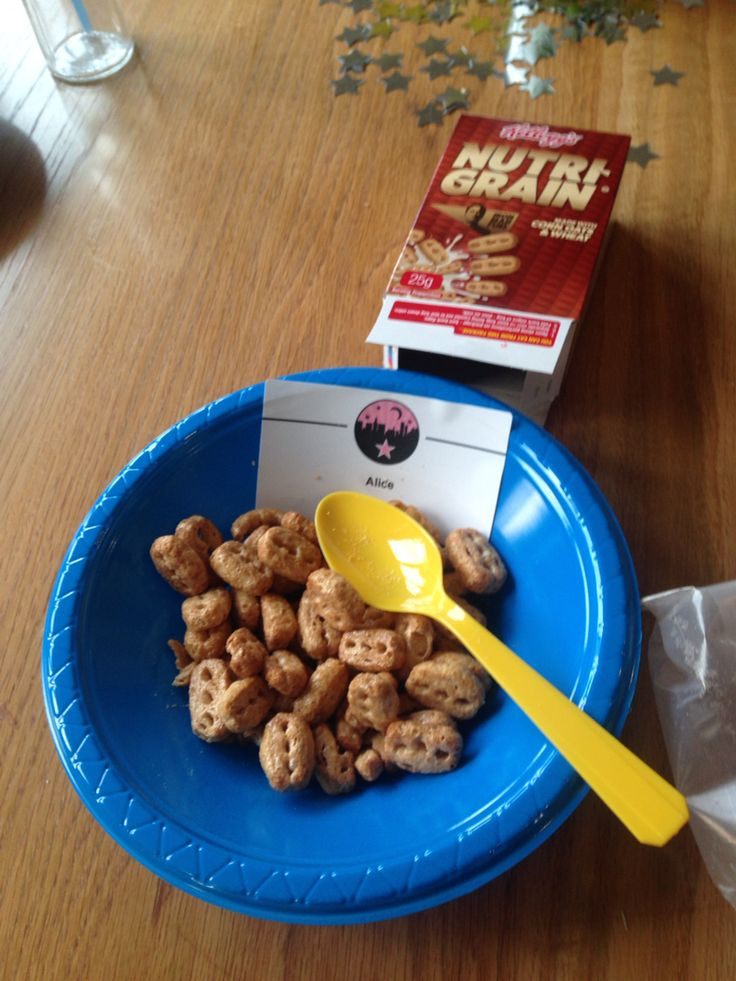 Personalised breakfast !