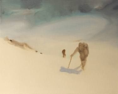 "Saatchi Art Artist Marta Zamarska; Painting, ""Winter Impression 27 (exhibition)"" #art"