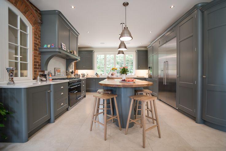 Classic bespoke kitchen in Hertfordshire by John Ladbury and Company
