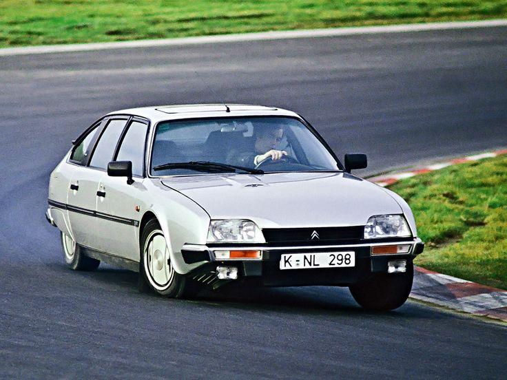 Citroen CX GTI Turbo cornering hard