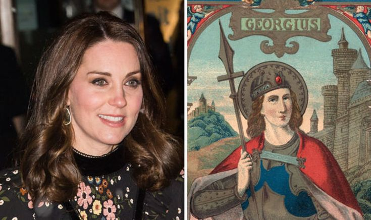 PRINCE William and Kate Middleton's baby is due to be born on St George's day, the patron saint of England, just weeks before Prince Harry and Meghan Markle's Royal Wedding, it has been revealed.