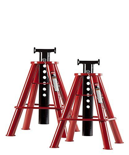 Sunex 1310 10Ton Medium Height Pin Type Jack Stands Pair >>> Be sure to check out this awesome product.