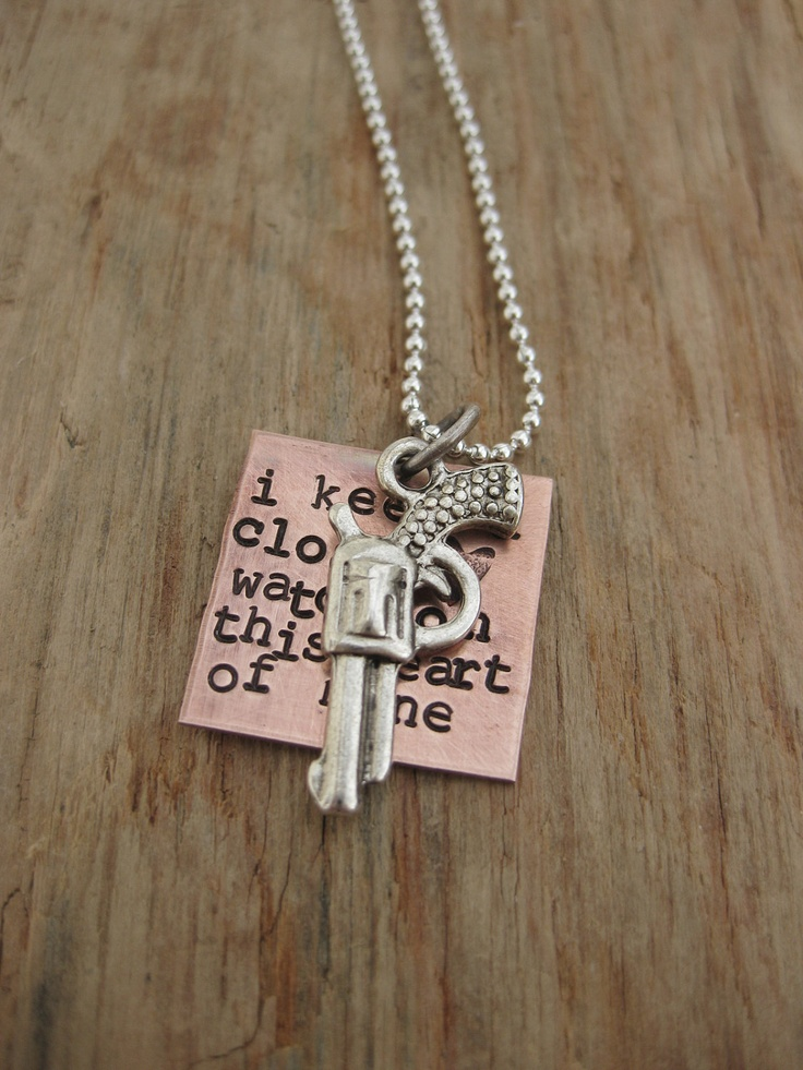 Etsy: Johnny Cash necklace gimme gimme gimme