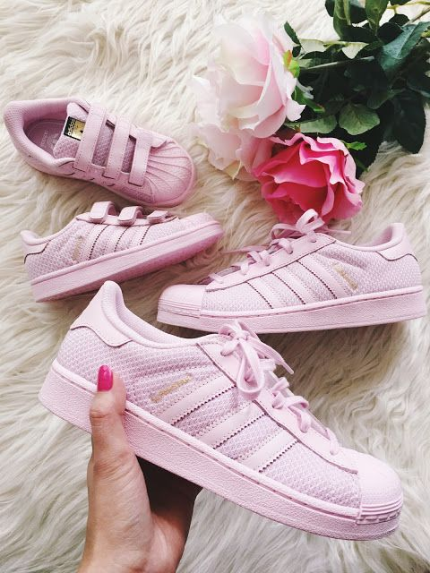 Mommy and Mini Adidas Superstars!