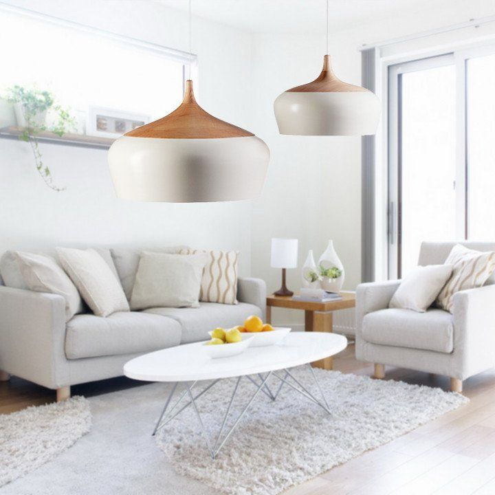 Kalmar Minimalist Scandinavian Pendant Light 60W Black Ceiling