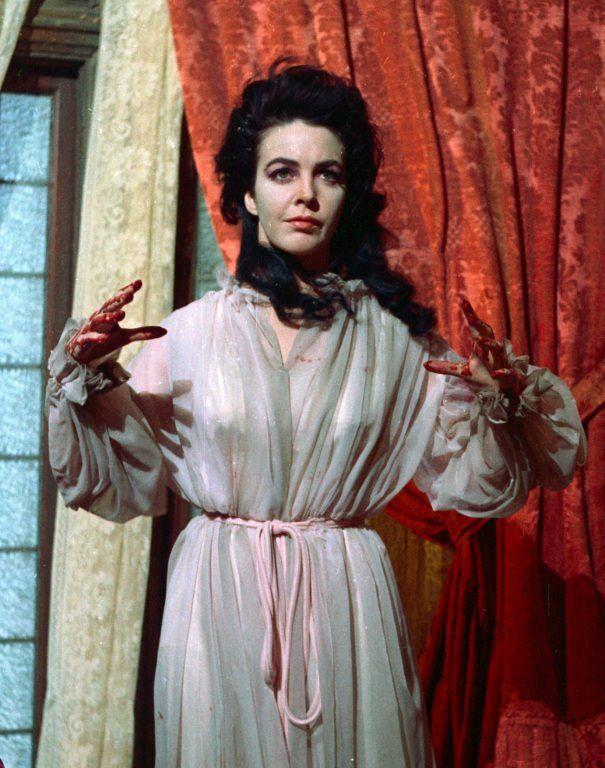 Myrna Fahey as Madeline Usher in