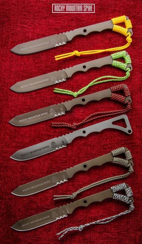 TOPS Knives Rocky Mountain Spike Fixed Blade Knife @thistookmymoney