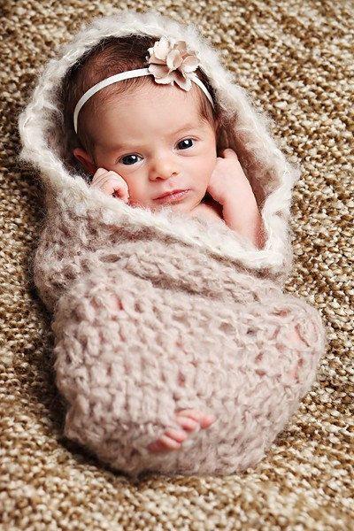Newborn Baby Photography Prop Pea Pod Egg Bowl CocoonGirl or Boy. $18.00, via Etsy. #newbornbabyphotography