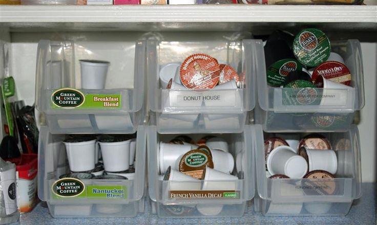 K-cup storage idea