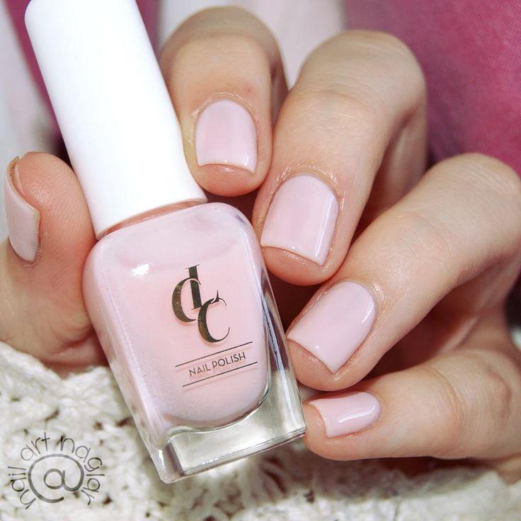 "Soft pink nail polish, ""Aptitude"" @lowengripcarecolor"