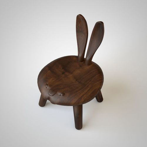 chair Bunny | 3D Model