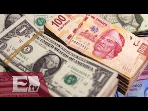 Banxico: peso mexicano cerrará en 2015 en 14.18 unidades por dólar/ Darío Celis - YouTube