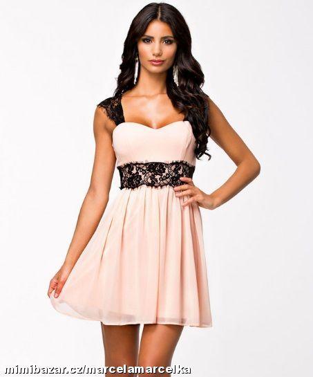 Letní šaty s krajkou krajkové šaty S M L XL