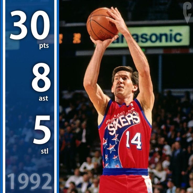 December 27 1992 Jeff Hornacek drops 30 points on only 16 shots as the Philadelphia 76ers beat the LA Clippers 110-106! Clarence Weatherspoon also tallied a double-double. . . . . #sixers #heretheycome #philly #76ers #philadelphia #phillyvault #nba #nowplaying #nbamemes #nbahistory #ttp #trusttheprocess #nyc #newyork #knicks #knickstape #nyknicks
