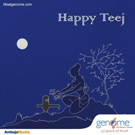 Teej is the day which shows woman's devotion and sacrifice. May the festivities of #Teej fill your life with love and happiness.